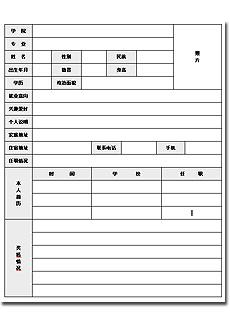 天津人力资源_【求职简历表格下载免费下载】-51job简历频道